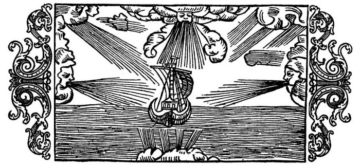 Olaus Magnus - On the Names of the Winds and Their Effects.