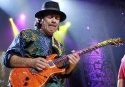 The legendary Carlos Santana