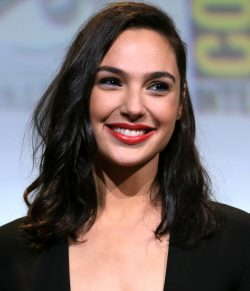 Gal Gadot plays wonder woman