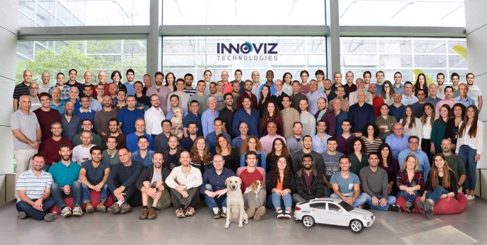 The Innoviz Technologies team made up of 150 employees. Courtesy.